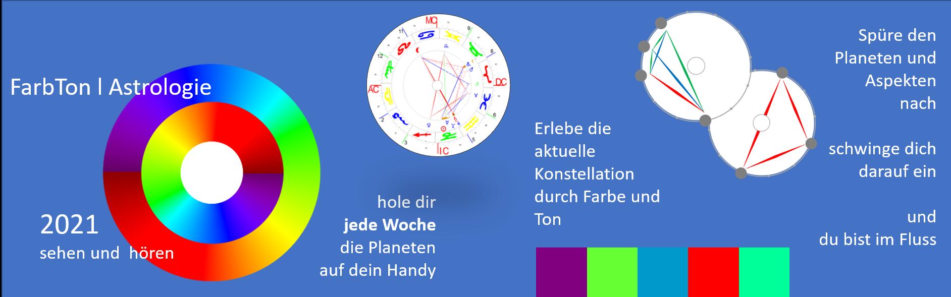 App FarbTon | Astrologie im Google Play Store erhältlich
